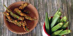 vegetarische snacks op Tokotheek