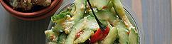 Indische komkommersalade