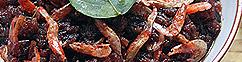 Gedroogde garnalen sambal