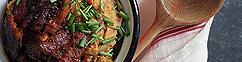 Kimchi stamppot met speklappen