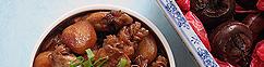 Kip met Chinese waterkastanjes