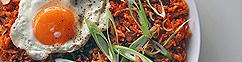 Kimchi nasi met Peking eend
