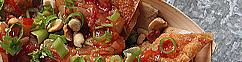Gefrituurde wontons met zoetzure saus
