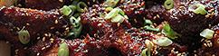 Gochujang double fried chicken