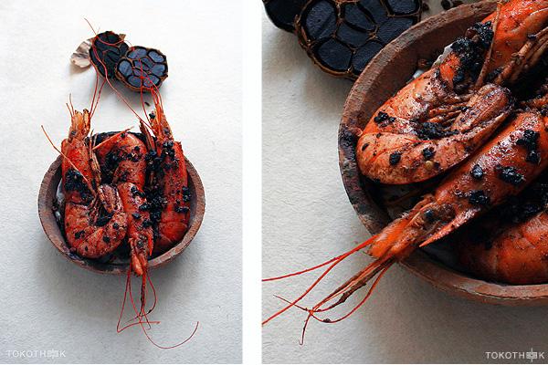 zwarte knoflook op tokotheek