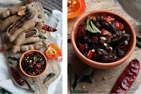 tamarinde chutney op tokotheek
