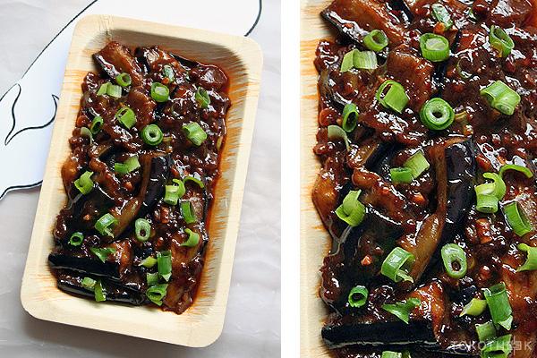 aubergines met visaroma