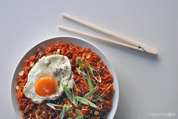 kimchi nasi op tokotheek