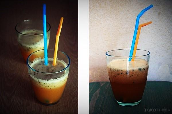 cherimoya smoothie op tokotheek