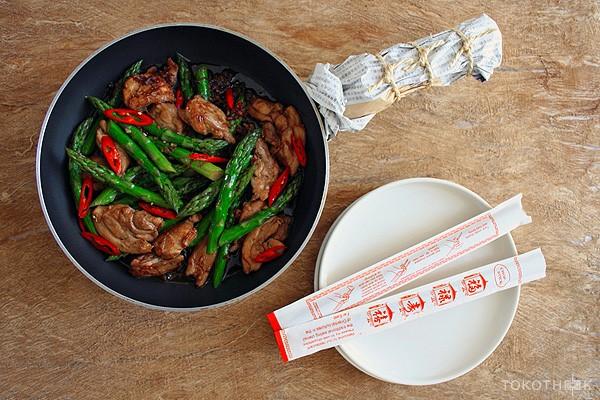 geroerbakte kip in xo saus op tokotheek