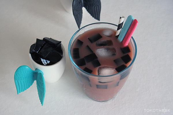 grass jelly drink op tokotheek chinese herbal jelly drank op tokotheek