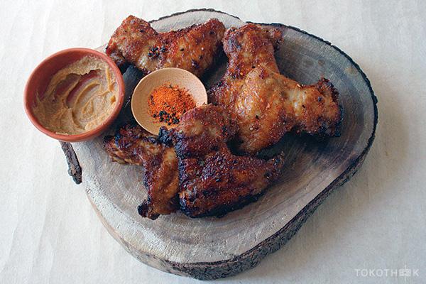 miso chickenwings miso kippenvleugels op tokotheek