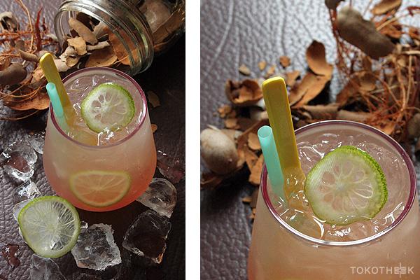 tamarinde gember cocktail