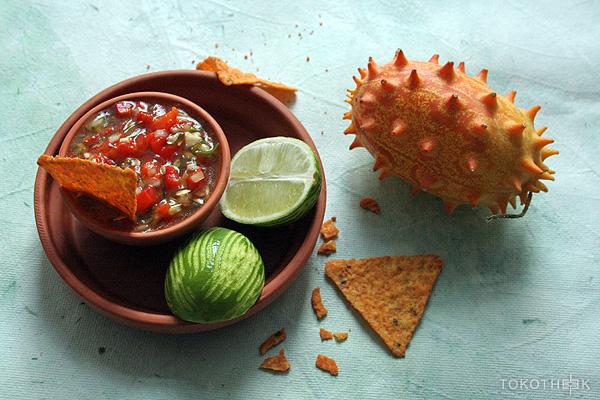 Kiwano salsa